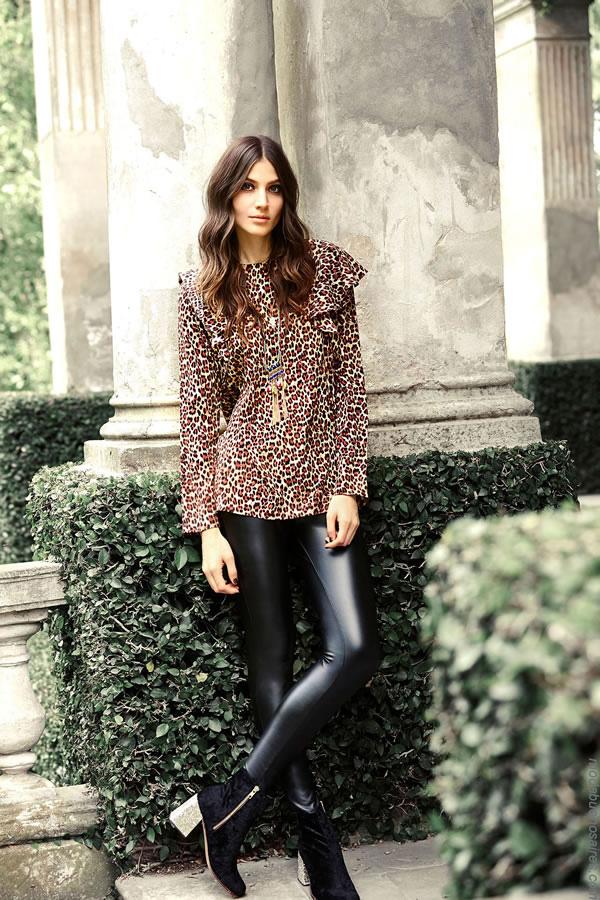 Blusas de moda invierno 2017 ropa de mujer. Moda 2017.
