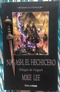 Portada del libro Nagash, el hechicero, de Mike Lee