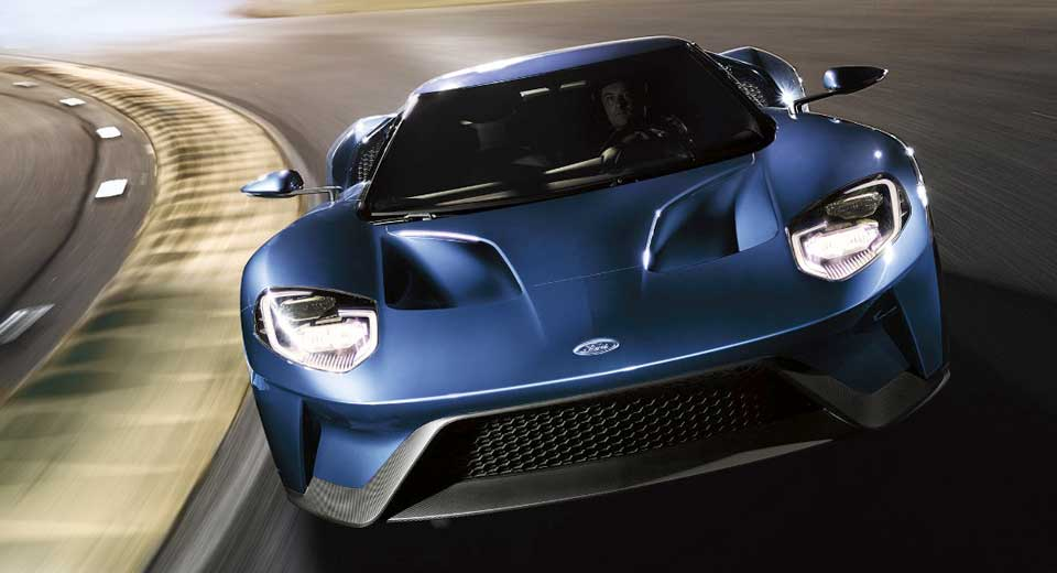 The Ford GT produces 638bhp and will do 216mph