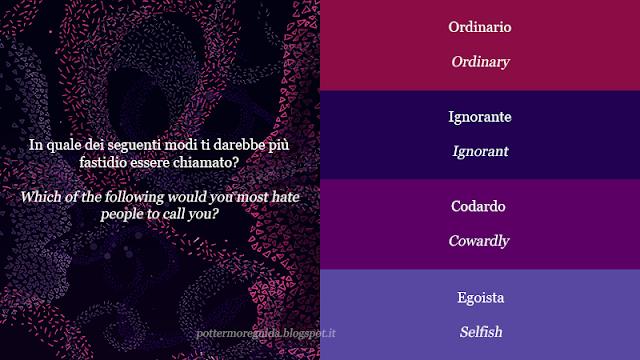 In quale dei seguenti modi ti darebbe più fastidio essere chiamato?