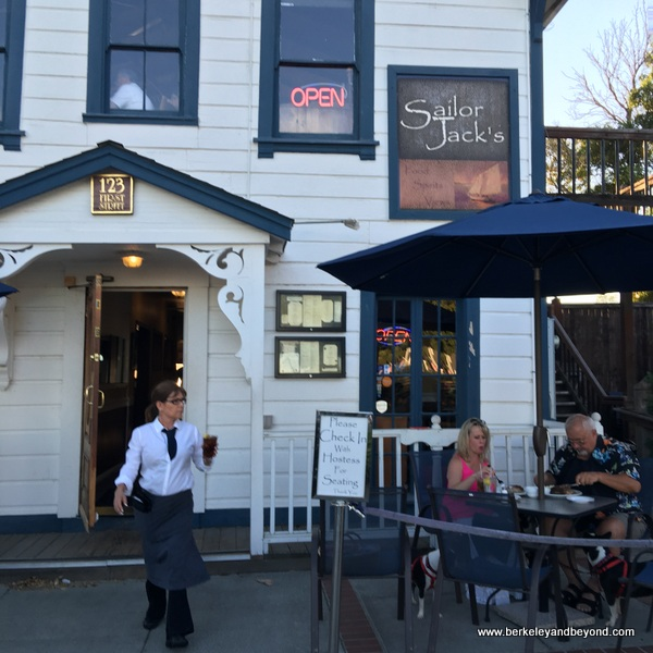 exterior of Sailor Jack's in Benicia, California