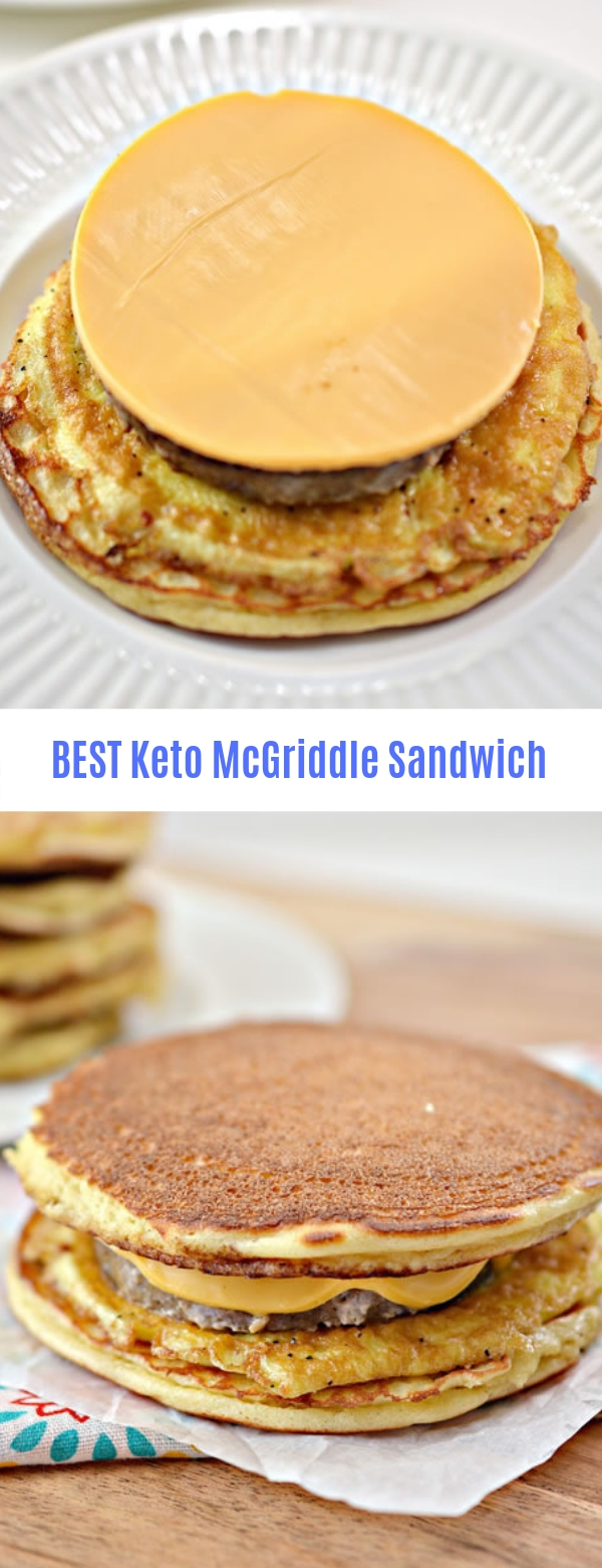Best Keto McGriddle Sandwich