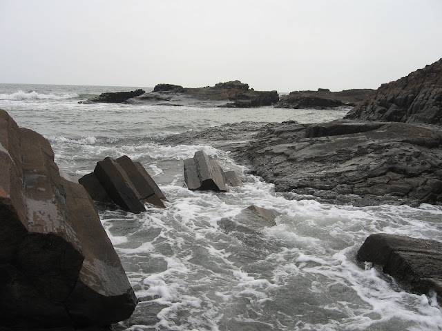 Basaltic Rocks, St.Mary's Island