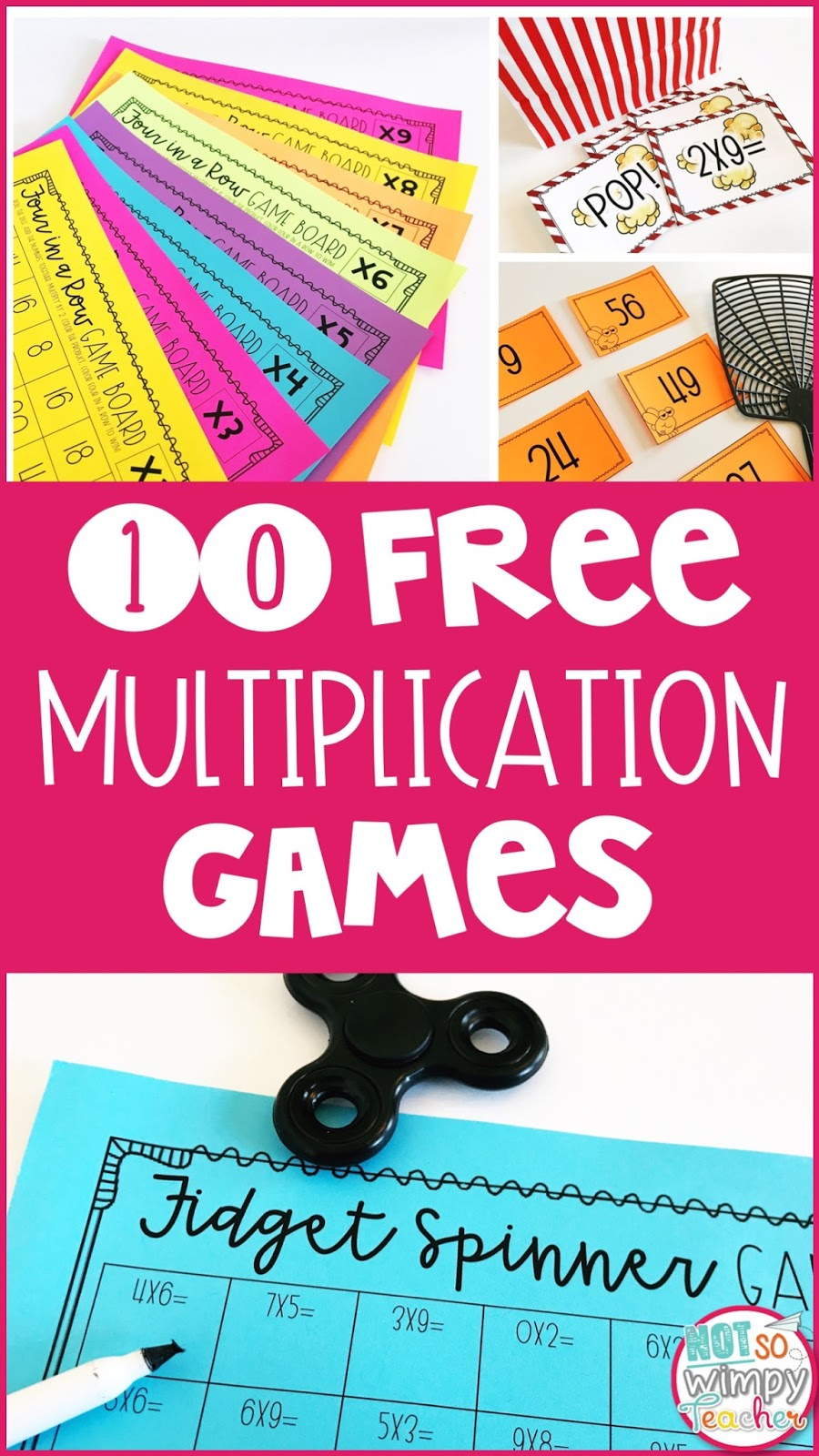 It's just a photo of Monster Multiplication Facts Games Printable