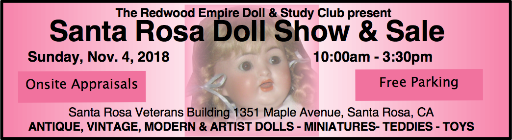 Santa Rosa Doll and Toy Show 2018