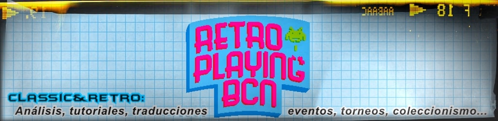 Retroplaying BCN - Retrogaming, videojuegos retro
