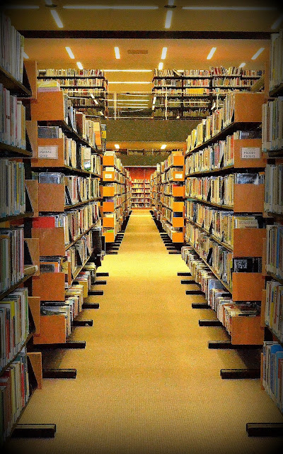Book Stacks, Boston Public Library, Boston, Massachusetts, paper