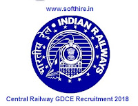 Central Railway GDCE Recruitment