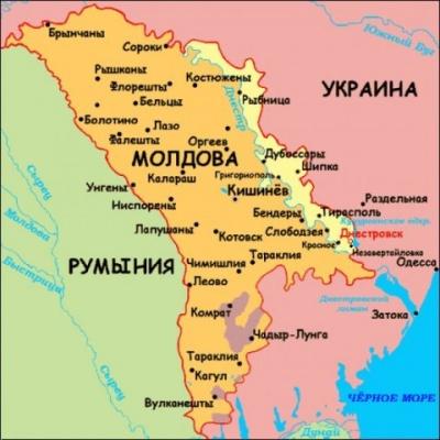 Молдавия на перепутье: между Россией, Румынией и Евросоюзом