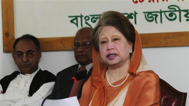 Protests rock Bangladesh as court jails Khaleda Zia for five years