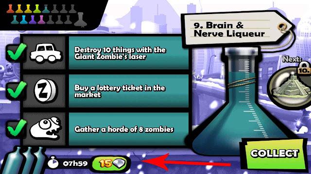 cara cepat naik level potion zombie tsunami tanpa root