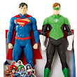 "A Dime At a Time: DC Universe 20"" Superman and Green Lantern 2-Pack Action Figures ONLY $10.00"