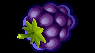 clipart gratis gambar buah blueberry
