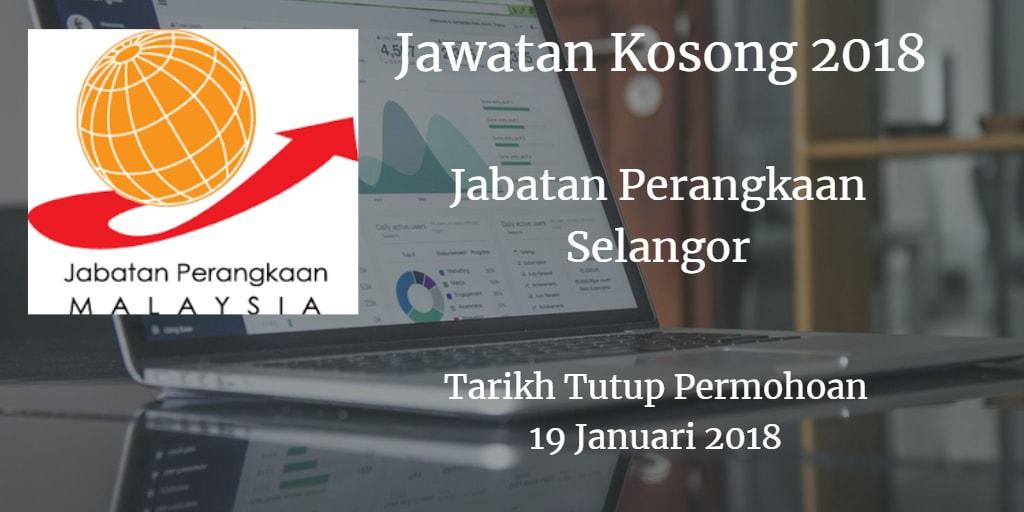Jawatan Kosong Jabatan Perangkaan Selangor 19 Januari 2018
