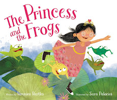 Announcing my Debut Picture Book: THE PRINCESS AND THE FROGS!!
