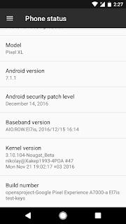 [Custom] [Rom] AOSP-N for Lenovo A7000