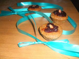 muffin cioccolato marmellata vegan