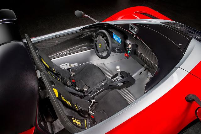 Lotus 3-Eleven 430 sports car