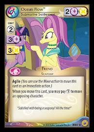 My Little Pony Ocean Flow, Submarine Settlement Friends Forever CCG Card