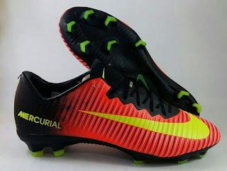 Nike Mercurial Vapor XI FG Total Crimson Premium,Sepatu Sepakbola murah, Sepatu Bola Import