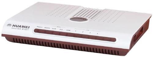 DSL Broadband Modem configuration : Huawei SmartAX MT841