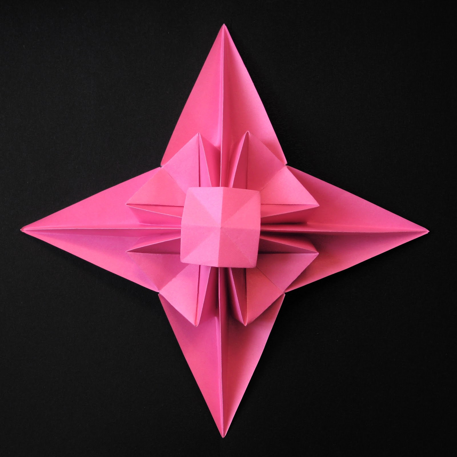 Origami 3D Star by Francesco Guarnieri