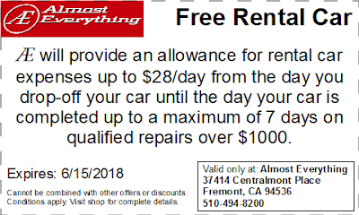 Coupon Free Rental Car May 2018