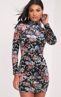 """<img alt=""""click for more floral dresses """">"""