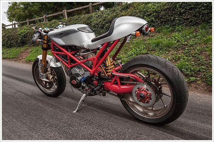 For Motorcycle fans: Ducati Monster SR2 Cafe Racer