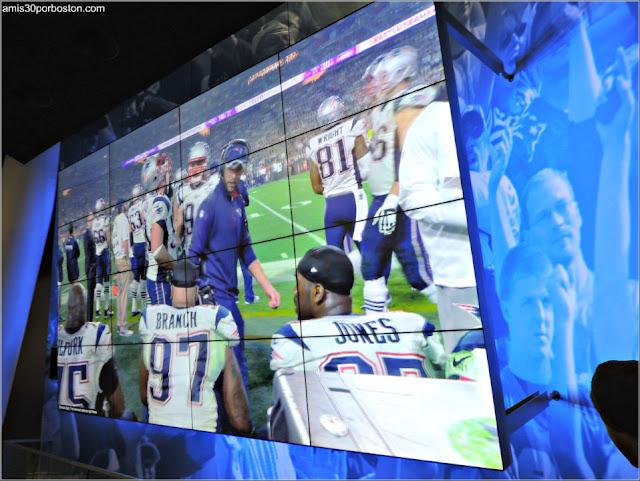Partido de la Super Bowl de los New England Patriots