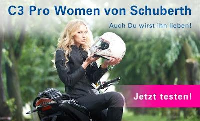 fembike sucht Testerinnen für C3 Pro Woman von Schuberth