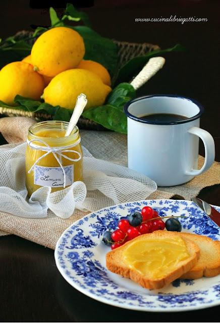 lemon curd ricetta