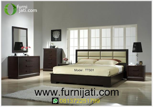 Harga tempat tidur set kayu jati