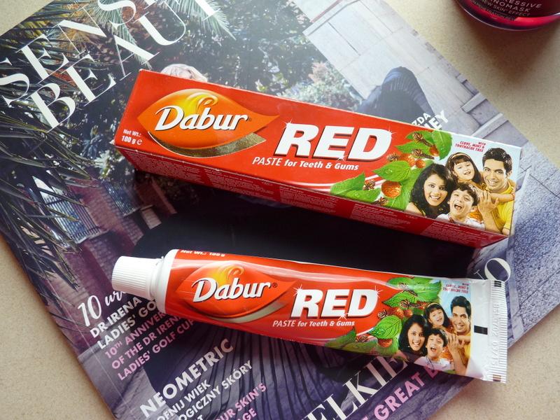 Pasta do zębów tylko dla odważnych Dabur RED Paste