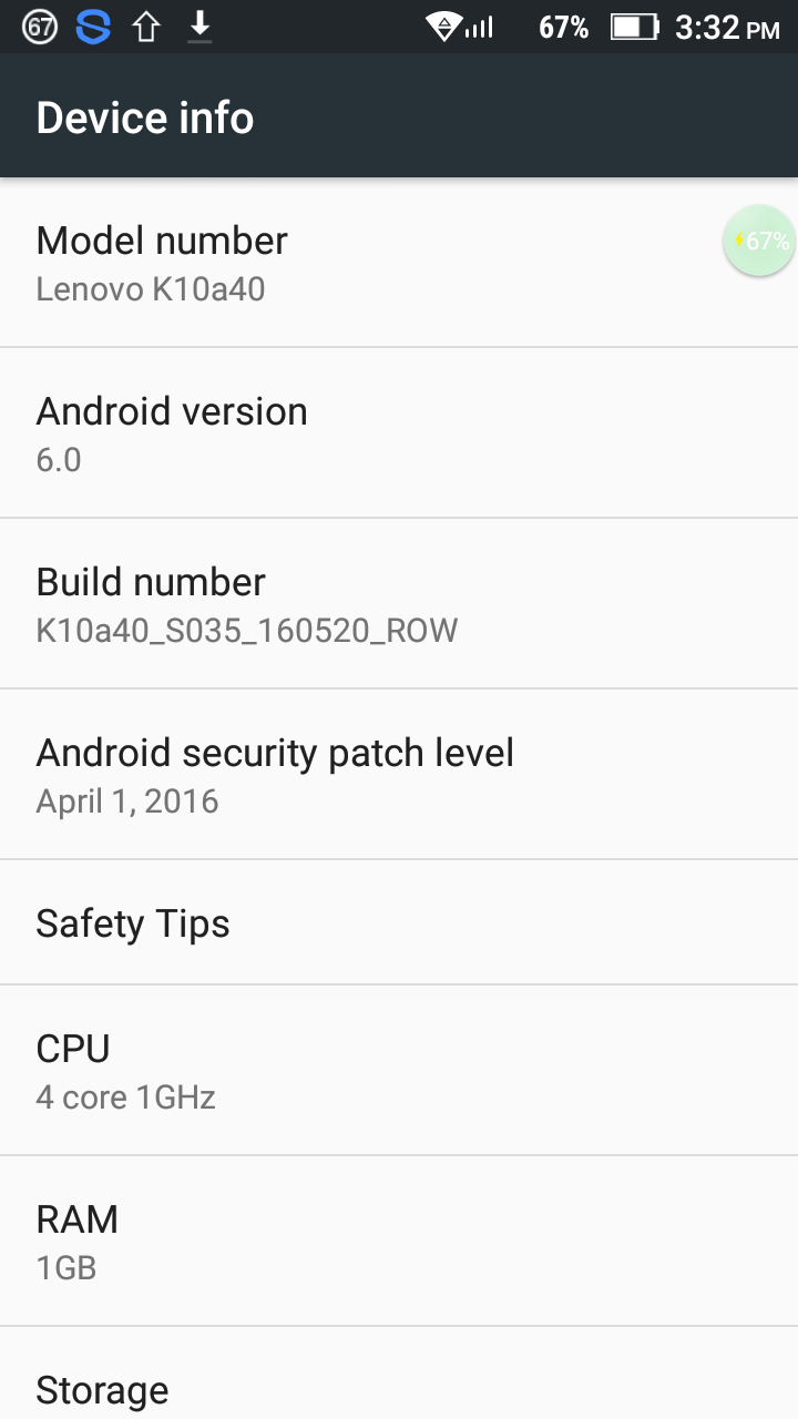 GSM FARUK ALL MOBILE OFFICIAL FIRMWEAR: Lenovo Vibe C2 flash