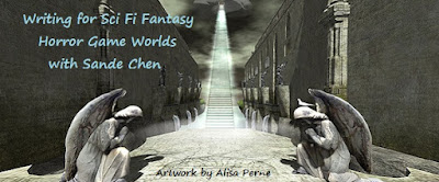 Writing For Sci-Fi Fantasy Horror Game Worlds