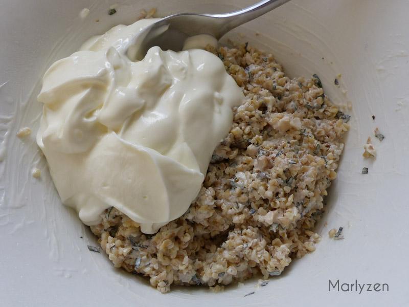 Le lendemain, ajoutez le second yaourt grec.