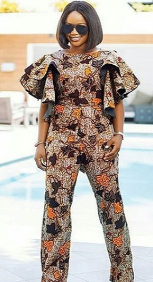 ankara jumpsuit for ladies