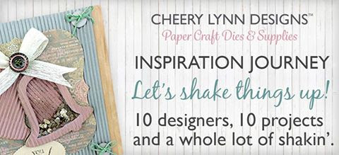 Cheery Lynn Designs November 2016 New Release Blog Hop Featuring the NEW Shaker Card Kits