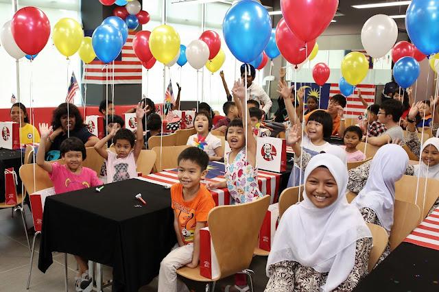 A Bucket Of Joy With Kfc This Merdeka Malaysian Foodie