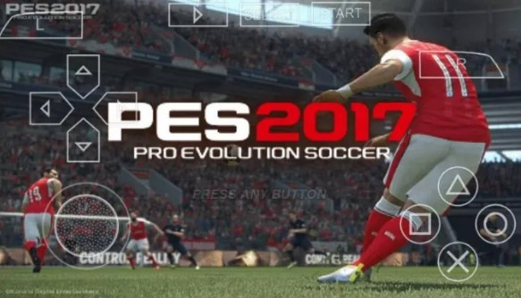 PSP Pes 2017 Android