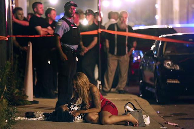 Sierpień w Chicago- kolejny niechlubny rekord. Przestępczość mocno w górę!