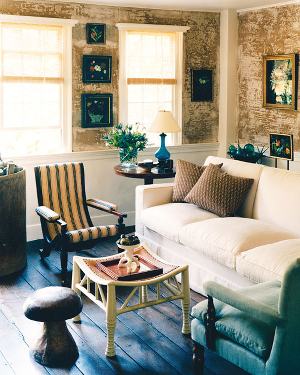 Decor Inspiration: Country Cottage Chic By Angus Wilkie
