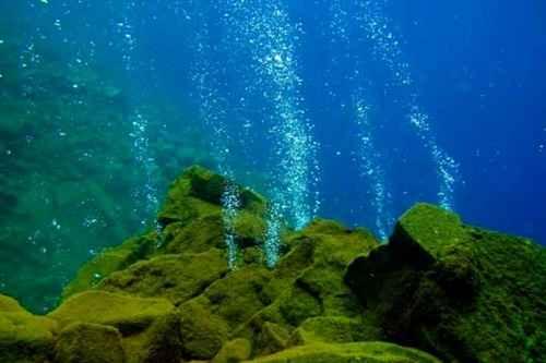 Gunung Merapi Bawah Laut