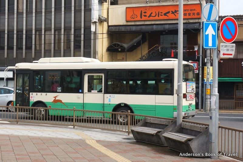 安德生遊記之運輸旅遊專刊: 日本奈良交通路線公車扮演觀光角色