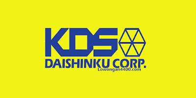 Lowongan Kerja Kawasan MM2100 - PT KDS Indonesia (Daishinku Corp)