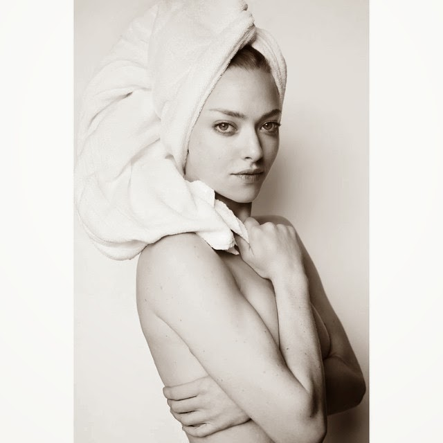 Amanda Seyfried mesmerises for the Towel Series