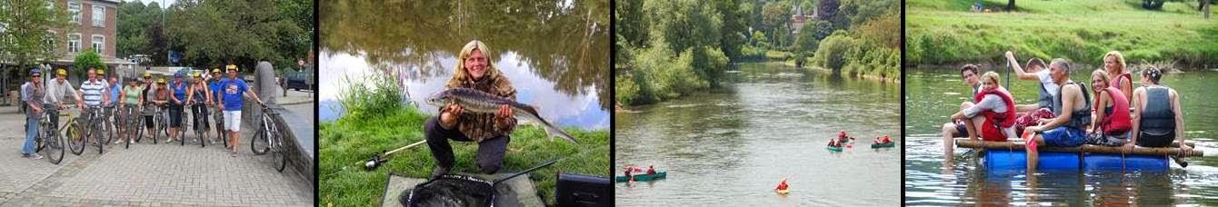 Fietsen, vissen, kanoën en vlotvaren in de Belgische Ardennen