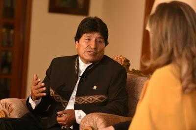 Morales destaca imagen ganada por Bolivia con devolución de chilenos
