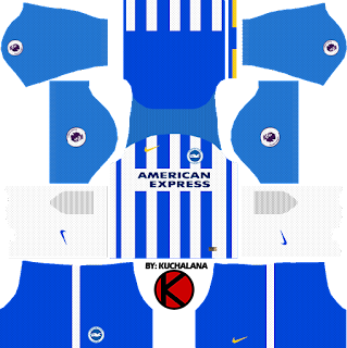 Brighton & Hove Albion F.C. Kits 2017/2018 - Dream League Soccer